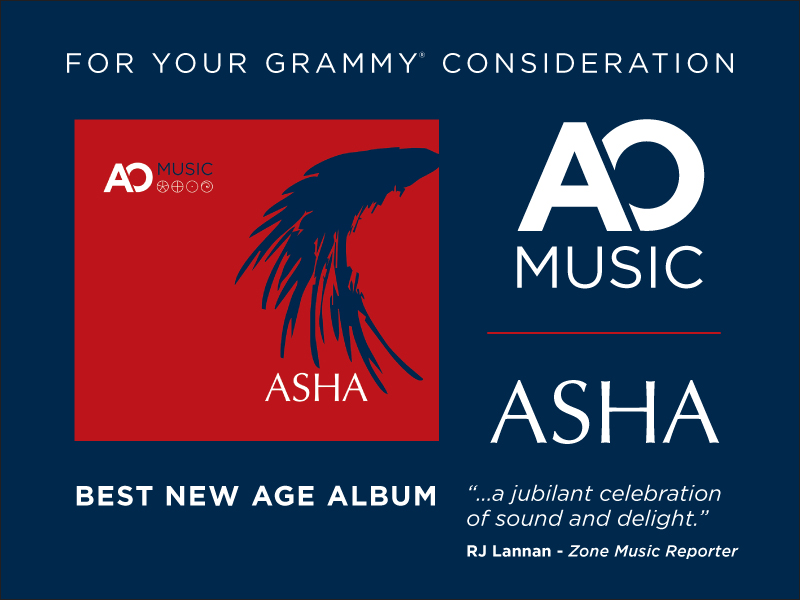 "AO Music's ""ASHA"" on the First Round Ballot for 60th Grammys"