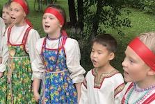 The Zvony Folk Children's Ensemble (Abakan, Russia):